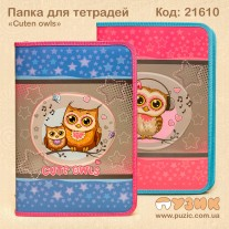 Папка для тетрадей «Cute owl»
