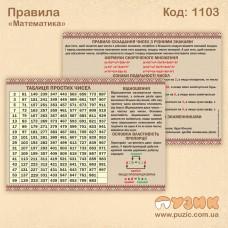 Таблица простых чисел (правила по математике)