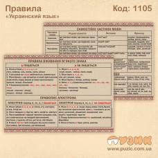 Правила по украинскому языку