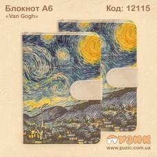 """Блокнот на магните """"Van Gogh"""" А6"""