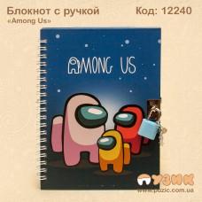 """Блокнот на замочке """"Among Us"""""""