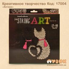 "Набор креативного творчества ""String Art: Котики"""