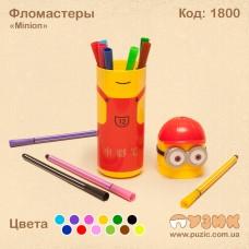 "Фломастеры ""Minion"" 2 цветов"