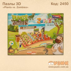 3D Пазлы «Plants vs. Zombies»