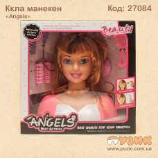 Кукла - манекен для причесок.