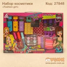 Косметика детская «Fashion girl»