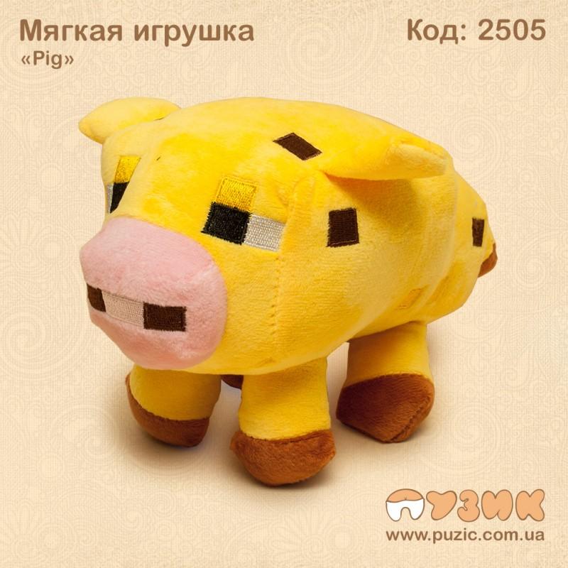 Мягкиая игрушки Pig Maincraft