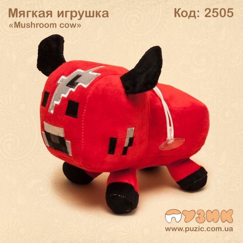 Мягкиая игрушки mushroom cow Maincraft