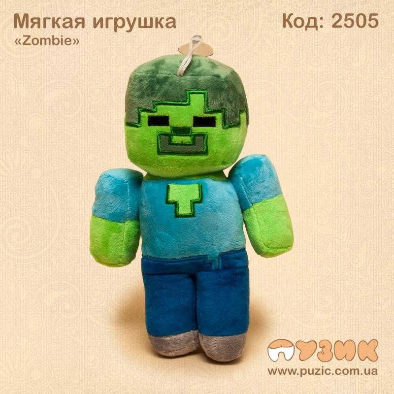 Мягкиая игрушки Zombie Maincraft