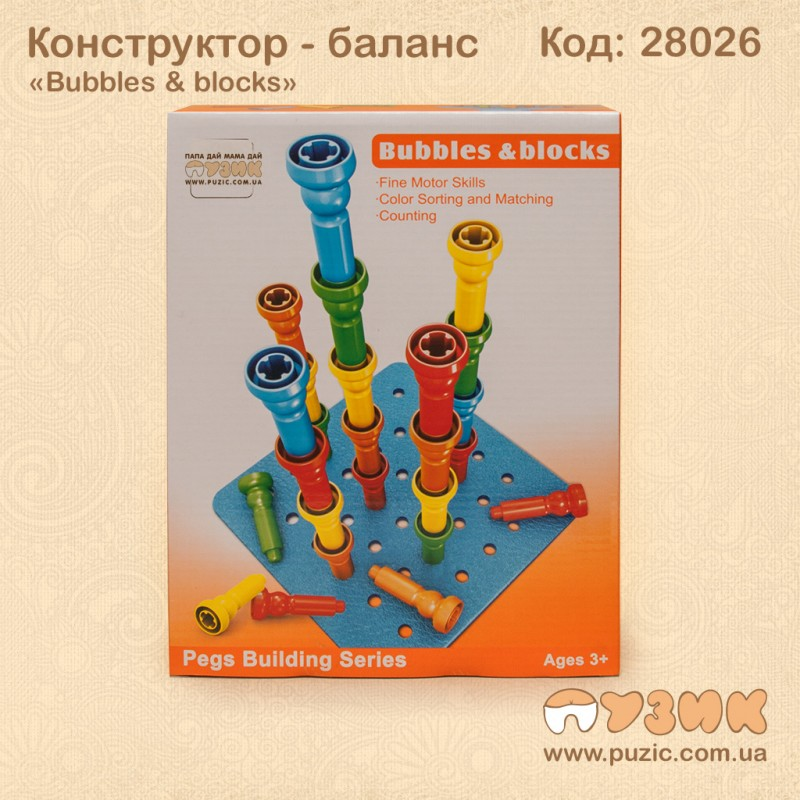 "Конструктор ""Bubbles & Blocks"""