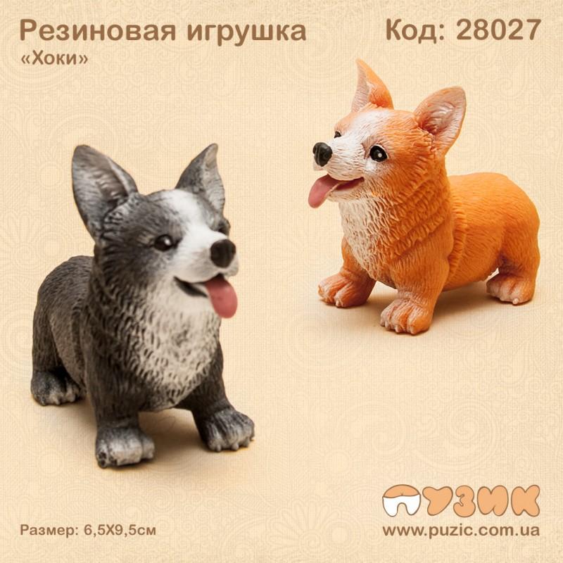 "Резиновая собака ""Корги"""