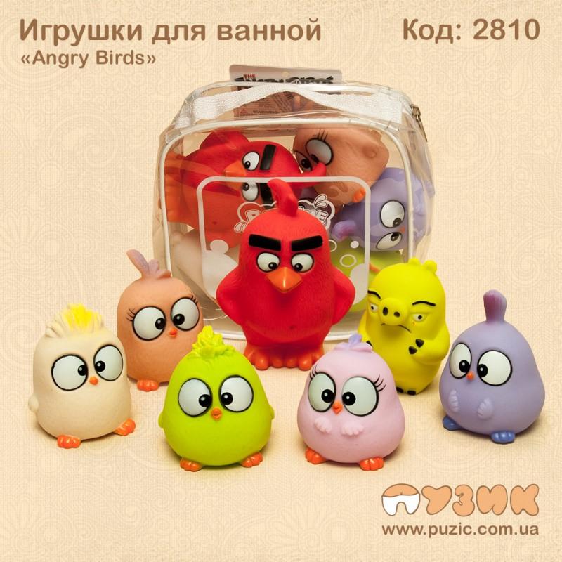 """Игрушки для ванной """"Angry Birds"""""""