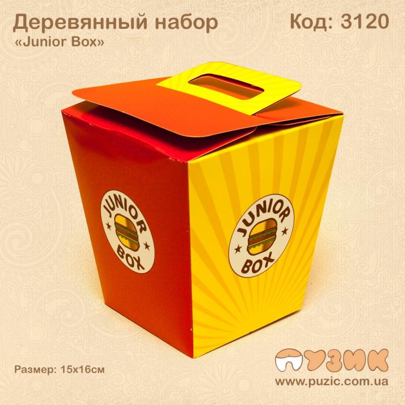 """Деревянный набор """"Junior Box"""""""