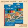 """Цветные карандаши """"Scholine"""" 12цв."""